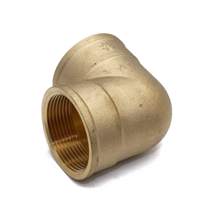 Brass compression fitting female elbow 90 degree pipe fitting tube fitting
