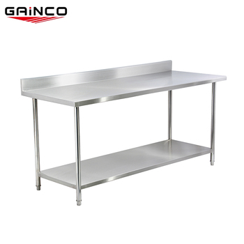 Hotel Kitchen Equipment Factory Stainless Steel Work Table Bakery Woking Wtc 162b