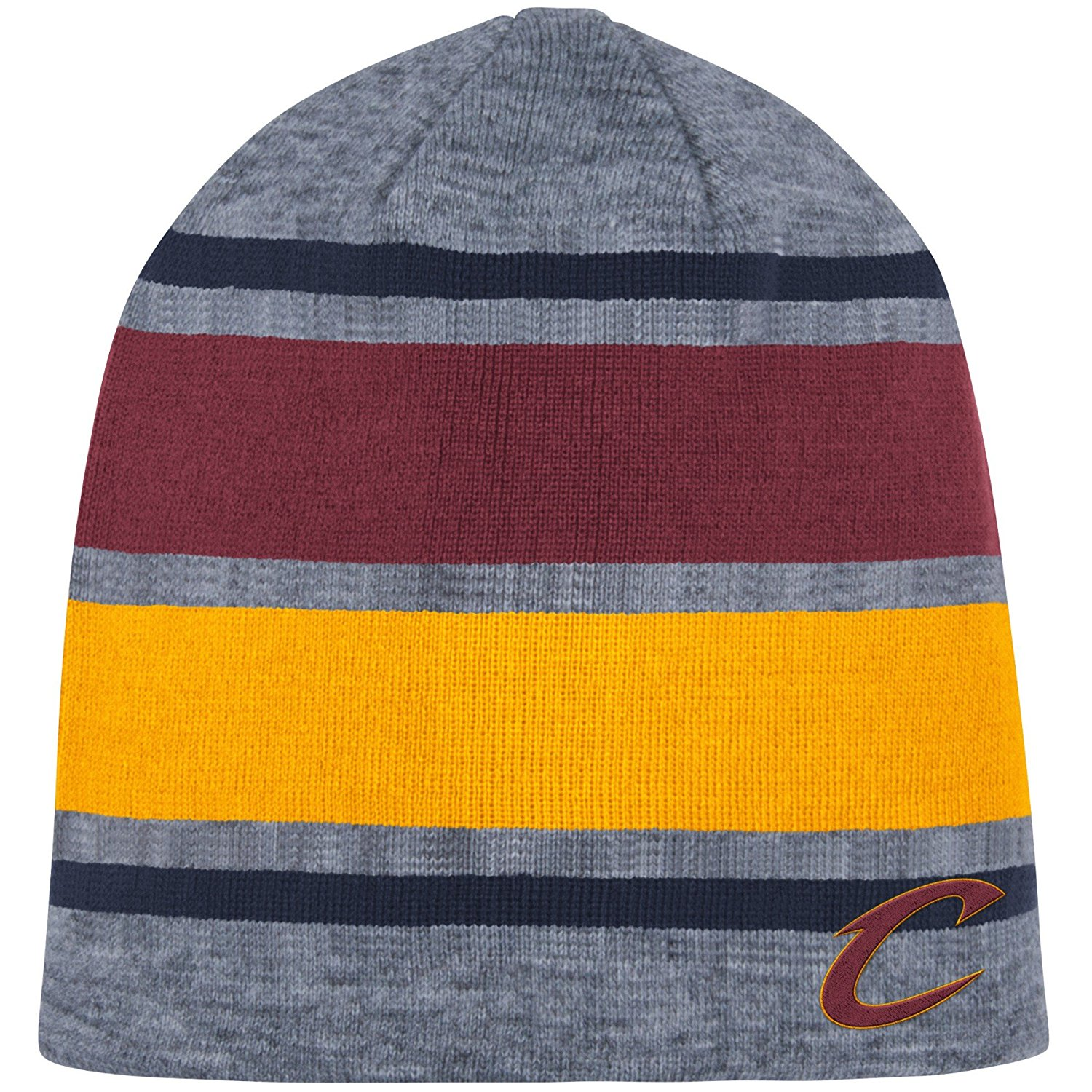 buy popular 763f8 c914f Get Quotations · Mitchell   Ness Athletic Grey Beanie Knit Hat