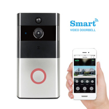 Wireless door peephole Mobiles APP surveillance doorbell camera for home apartments IP door intercom
