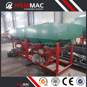 HSM Saw Tooth Wave Jigger Jig Machine For Coal Concentration