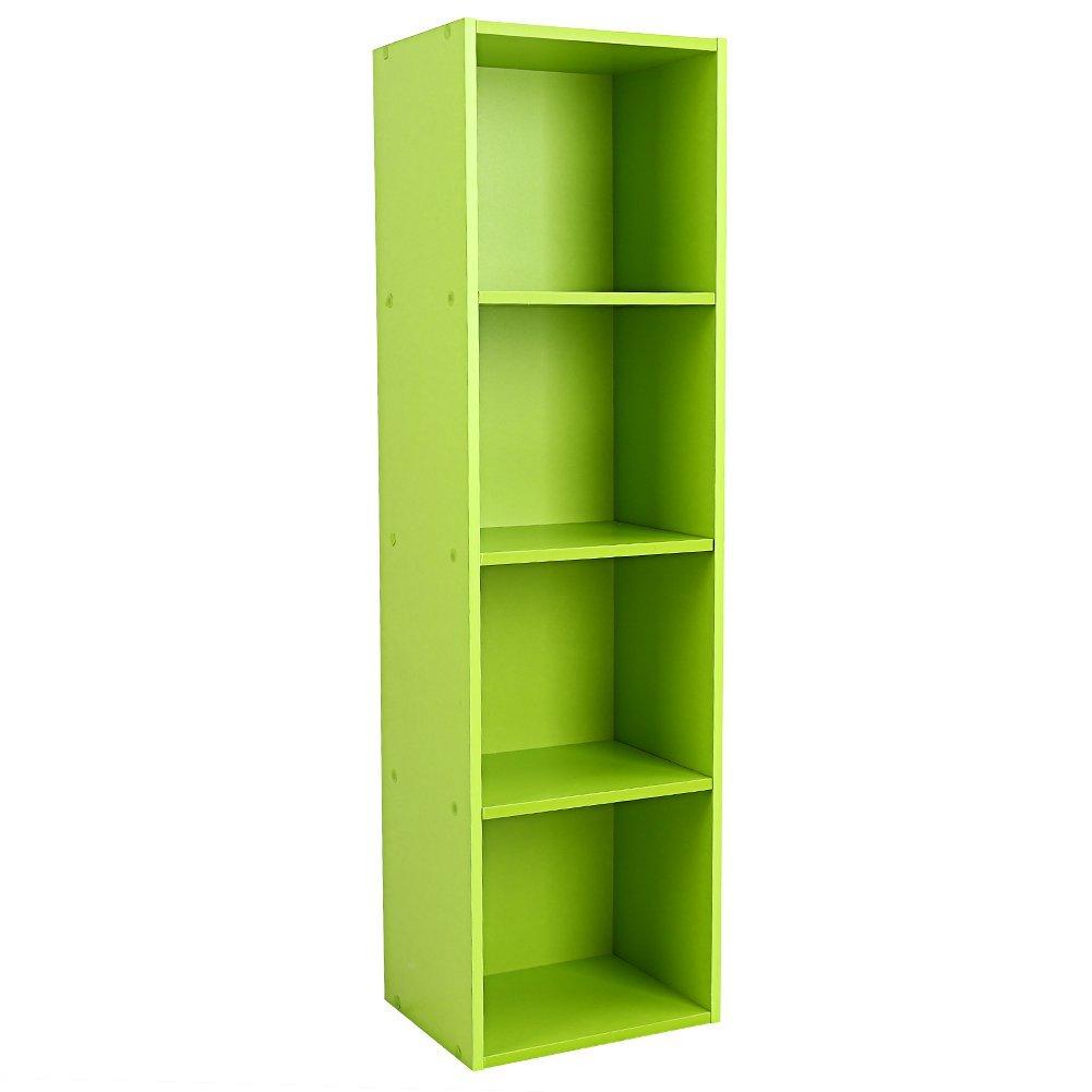Achim Home Furnishings SHLV2CFRP6 2 Cube Plastic Drawer Unit Storage Organizer DIY Modular Shelving Cabinet