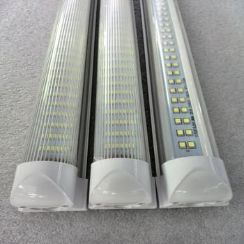 5000k 6500k Office Shop Lighting 8ft Led Tube Light Fixture 60w ...