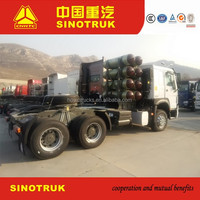 sinotruk used tractor unit for sale with free spare parts
