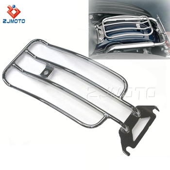 ZJMOTO Motorcycle Parts For Harley Davidson Electra Glide Standard Injected-FLHTC Motorcycle Luggage Rack