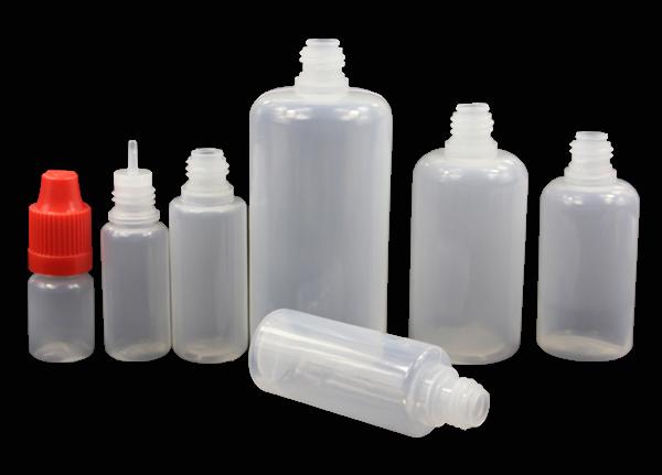 5ml 10ml 15ml 20ml 30ml 50ml PET-Kunststoff e Flüssigkeitstropfflaschen mit kindersicherem Verschluss