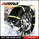 snow road anti slip tyre cover / winter snow sock