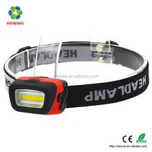 2016 new plastic COB head light to wear super bright led light