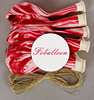 "12"" Colorful Marble Balloon 8Pcs/Set for party decorations-Red"