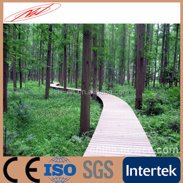 Waterproof Wood Plastic Composite Decking Boards