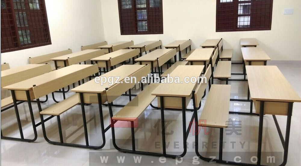 2015 Hot Selling School Desk Dimensions Reading Chair Used