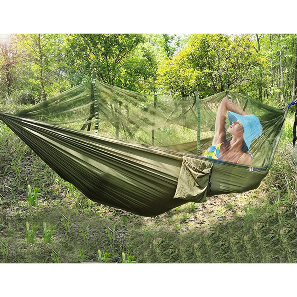 get quotations    green jungle hammock swing bed mosquito   hammock bed durable  pact widened parachute nylon fabric double cheap hammock mosquito   find hammock mosquito   deals on      rh   guide alibaba