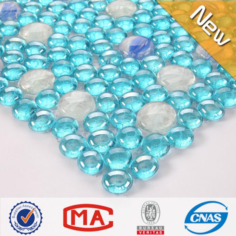 gro handel runden blauen glas mosaik fliesen kaufen sie die besten runden blauen glas mosaik. Black Bedroom Furniture Sets. Home Design Ideas