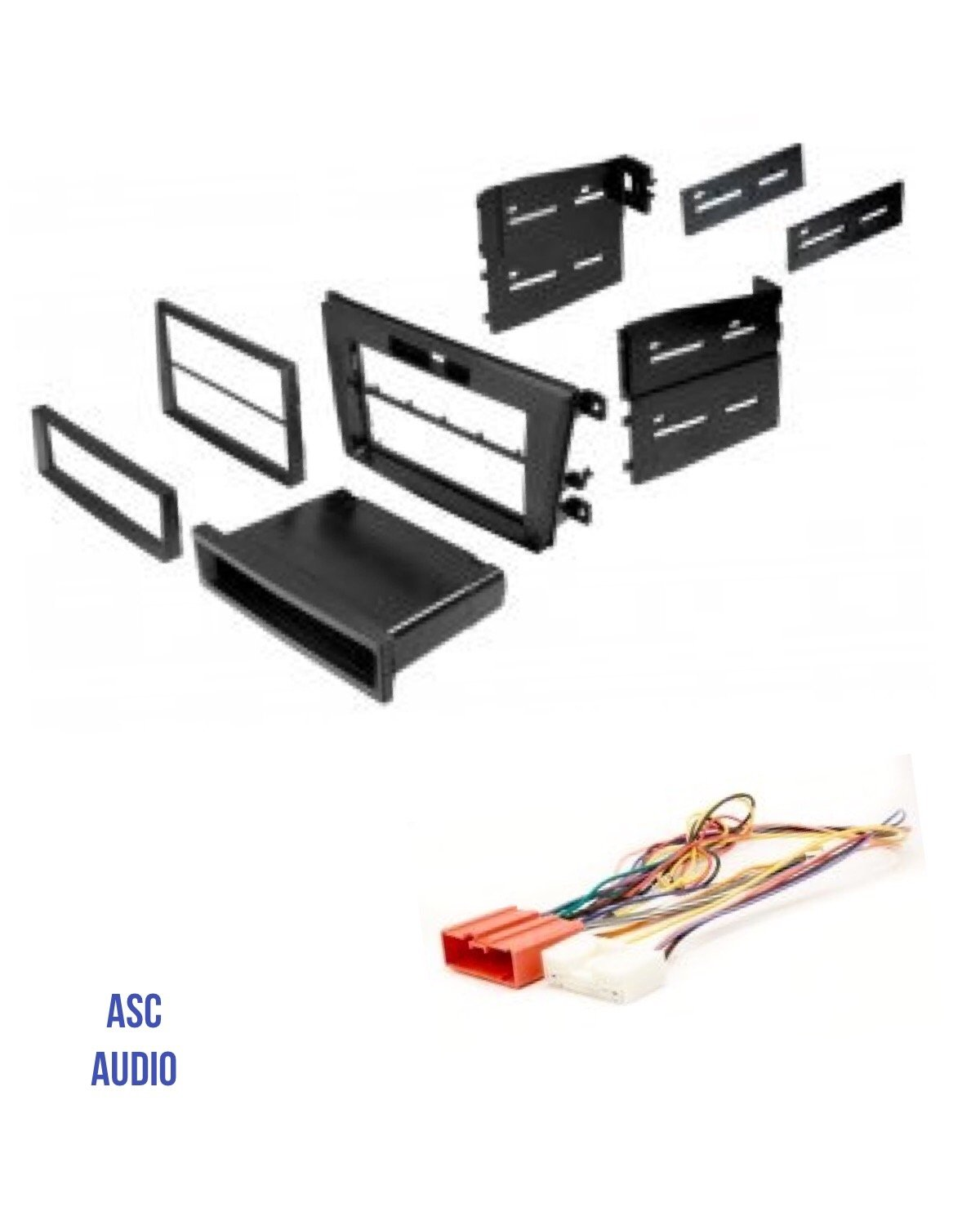 Cheap Installing Wire Balustrade Find How To Build A Harness Get Quotations Asc Audio Car Stereo Radio Install Dash Mount Kit And For An Aftermarket