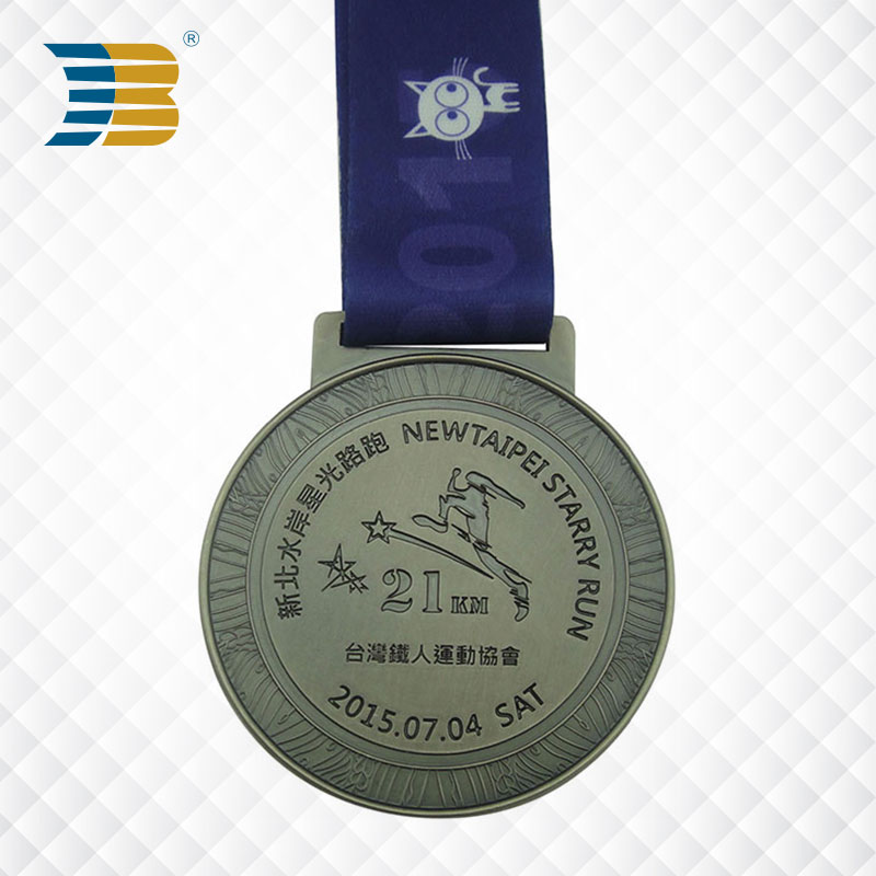 wholesales carved custom running sports metal medals