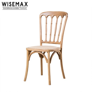Wholesale modern chiavari wedding restaurant wooden dining napoleon Chair used for rental