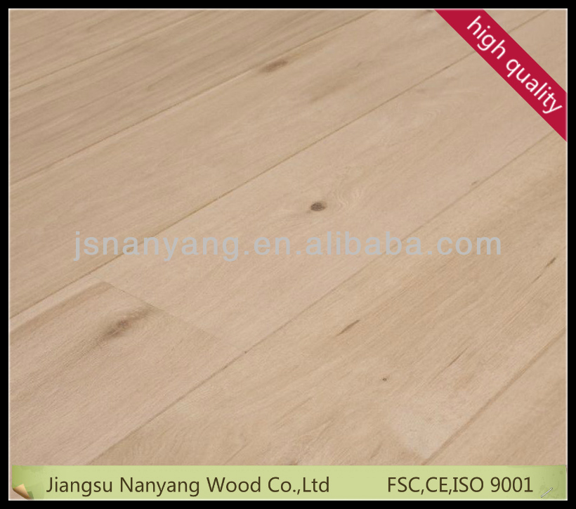 oak veneer 3mm wide plank floating floor