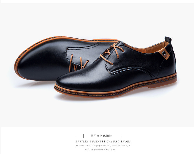 Mens Synthetic Leather Casual Shoes