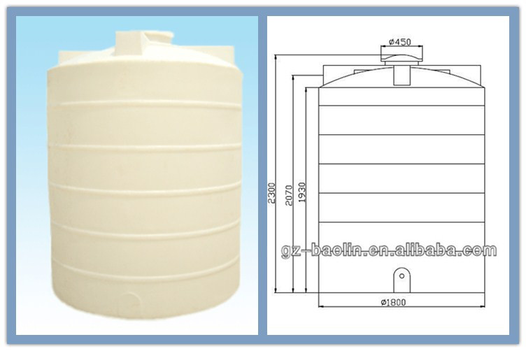 High Quality Plastic Water Tank 1000 Liter