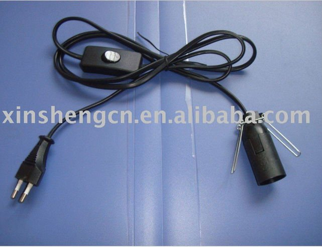 303 switch lamp power cord for European market
