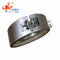 Heater Band With Cover For Extrusion Screw Barrel