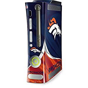 NFL Denver Broncos Xbox 360 (Includes HDD) Skin - Denver Broncos Vinyl Decal Skin For Your Xbox 360 (Includes HDD)