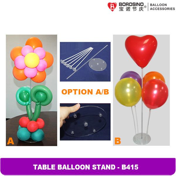 Balloon Centerpiece Stands : Wholesale b table decoration transparent balloon