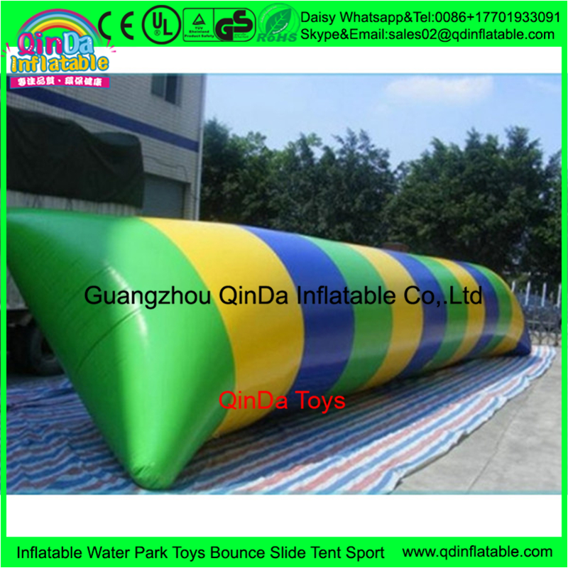 Popular Water Game inflatable water launch pad,water blob rental