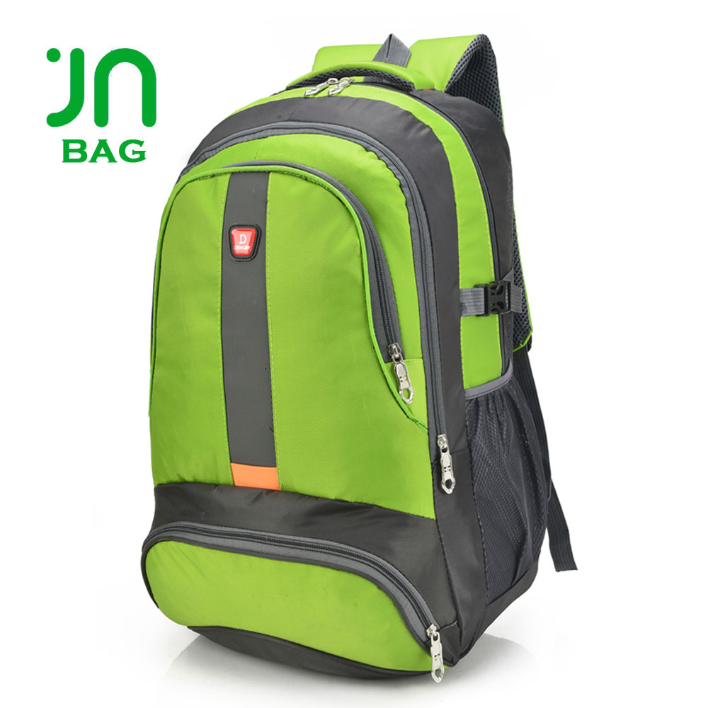 JIANUO Cheap backpack custom backpack for travel outdoor nylon bakcpack