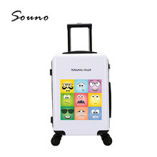 New Fashion Colorful Travel Luggage Set Suitcase