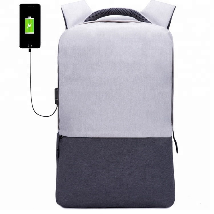 Factory Outdoor Travel Custom Anti-theft USB Battery Charging Laptop <strong>Backpack</strong>