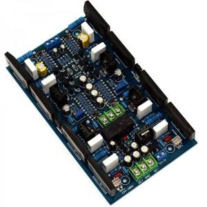 DIY Dual Channel 300W+300W Audio Power Amplifier Board 2SA1494 2SC3858