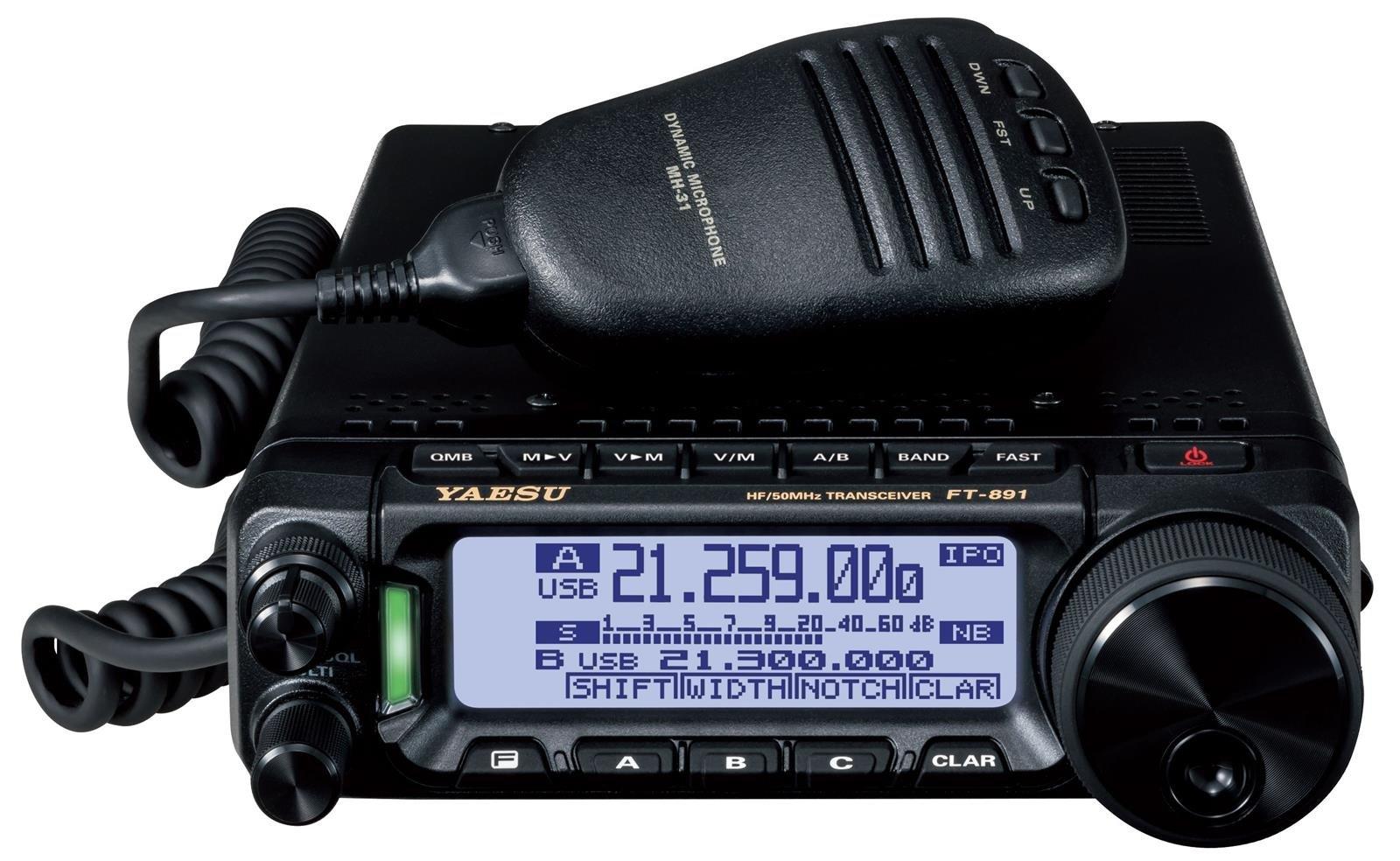 Get Quotations · Yaesu Original FT-891 HF/50 MHz All Mode Analog Ultra  Compact Mobile /