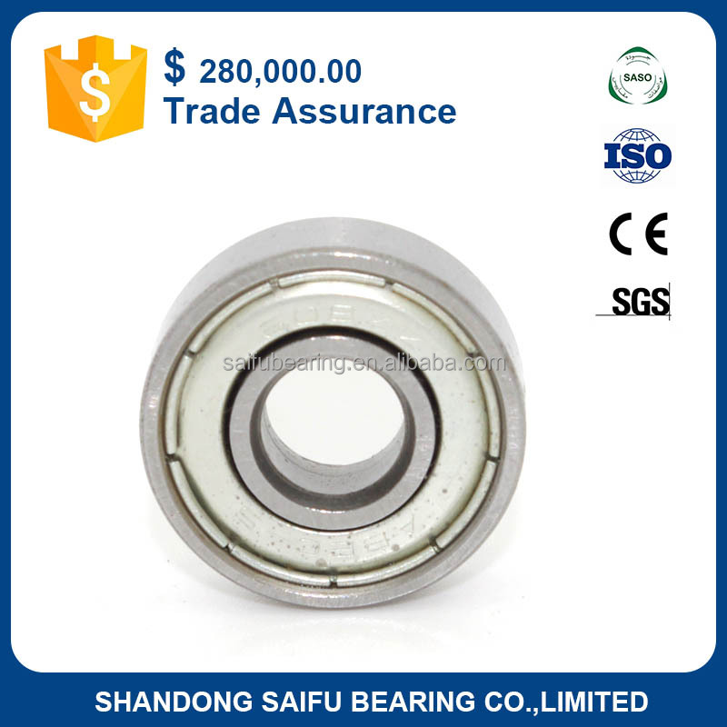 High quality MR83 ZZ miniature ball bearings