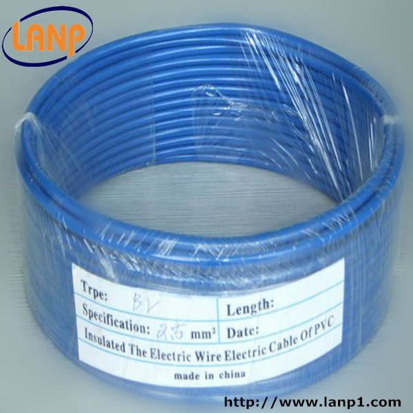 100m reel 2.5mm single core multi strand Wire cable blue
