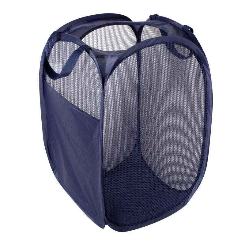 Foldable Pop Up Mesh Hamper Collapsible Laundry Basket Buy Collapsible Laundry Basket Laundry