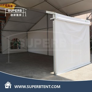 clear span party Guangzhou event yard marquee wedding tent 6x12