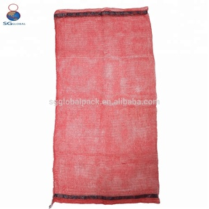 Wholesale Polypropylene Red Mesh Onion Bags
