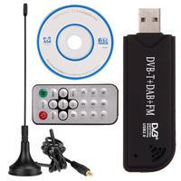 Mini Digital USB 2.0 DVB-T SDR+DAB+FM TV Tuner Receiver Stick RTL2832U+R820T