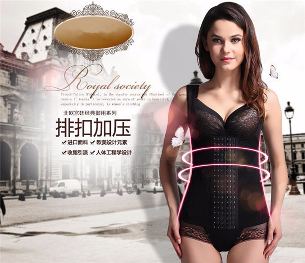 Top quality adult women lace body shaper sexy waist traninig corset