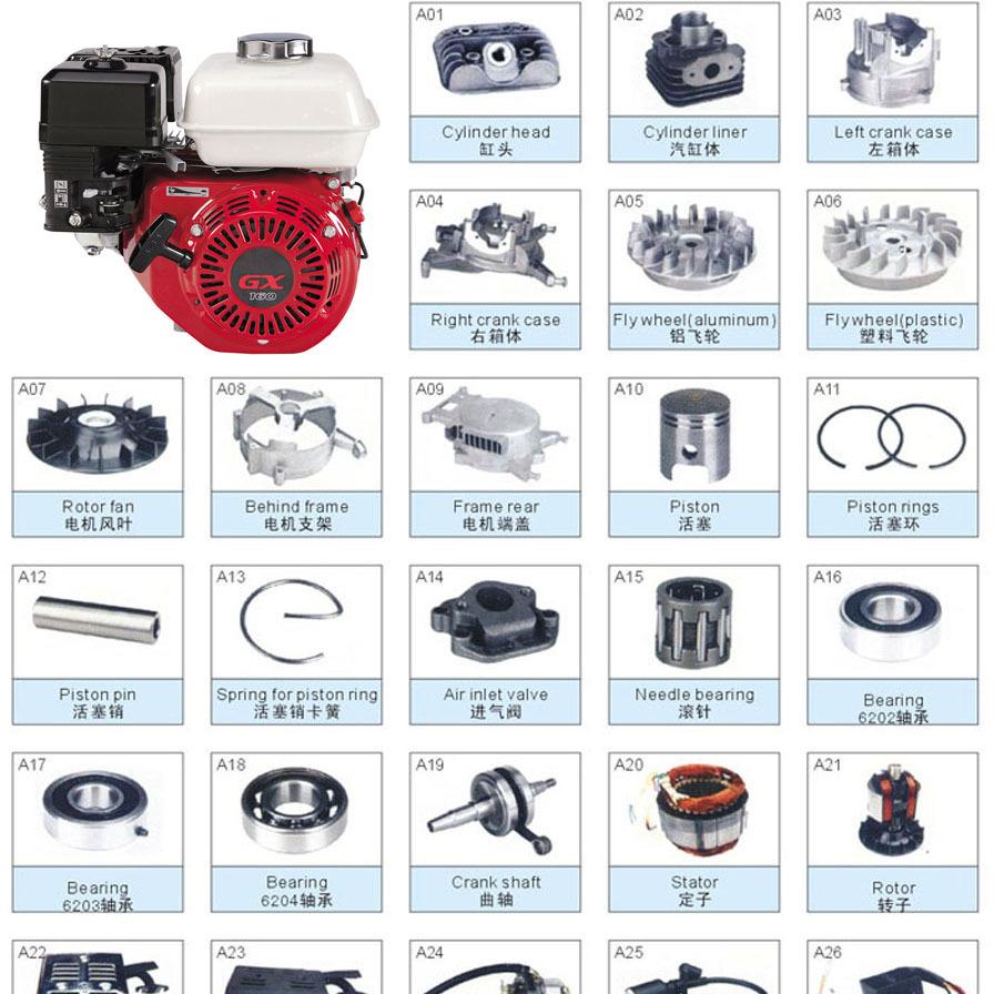 Power Value Gasoline Engine Parts Petrol Engine Assembly