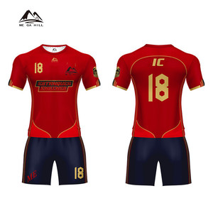 China Wholesale cheap sublimation women professional rugby training jersey