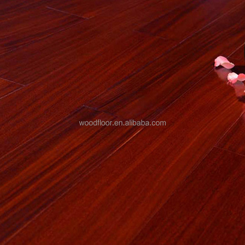 Factory Price High Quality Iroko Cherry Color Hardwood Flooring