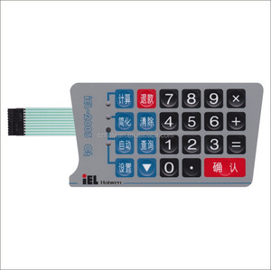 PET Waterproof Membrane Keyboard Switch for Security Prevention System