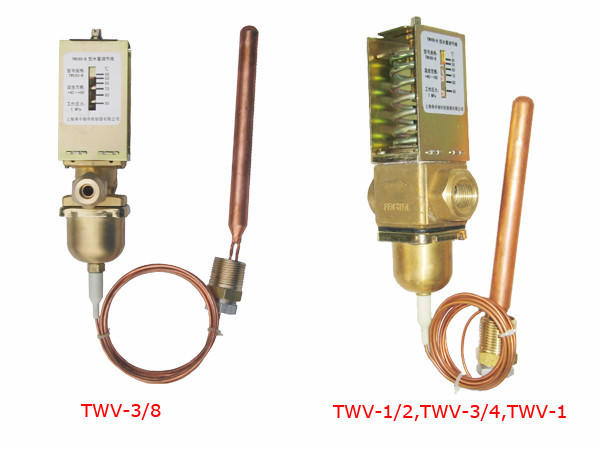 Flow Capacity Temperature Control Valve Installed On The Inlet Of ...