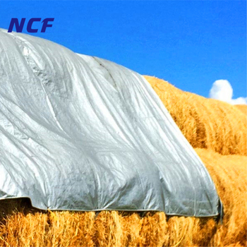 8oz High Strength Reinforced Hems Hay Tarps And Covers For Hay Bales