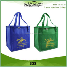Insulated Polyester Tote Wine Cooler Bag, Wine Cooler Bag,Insulated tote bags alibaba trade assurance