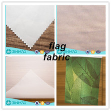 Best factory price knitted 100% polyester sublimation digital printing silk screen printing fabric flag fabric