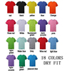 Advertising T-shirt In bulk, Promotional Dry Fit Tee Low Price