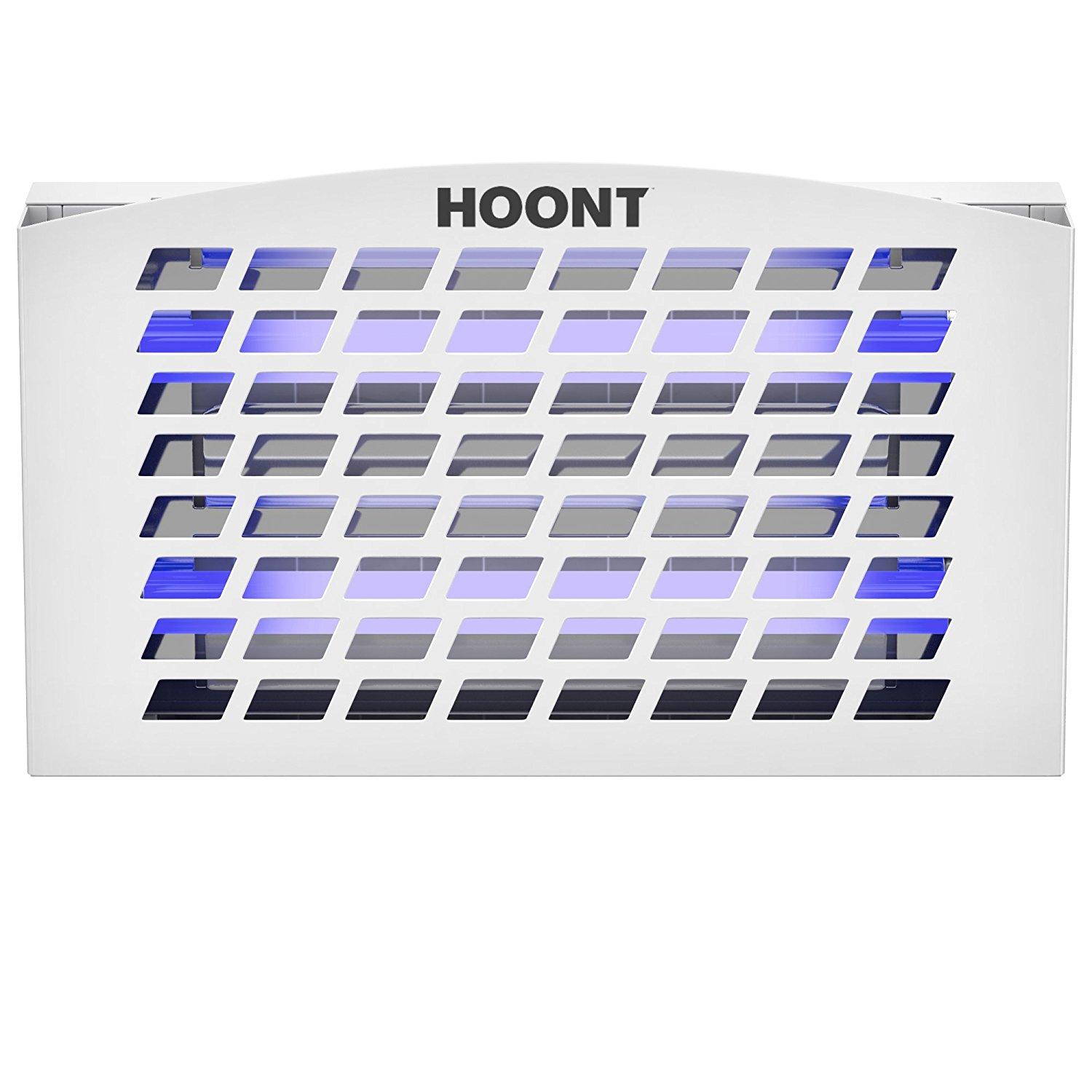 Hoont Indoor Plug-in Sticky Fly Trap Catcher Killer with Bright UV Light Attracter (Includes 2-Adhesive Glue-Boards) / Traps Flies, Insects, Mosquitoes, Gnats, Etc.- For Residential and Commercial Use